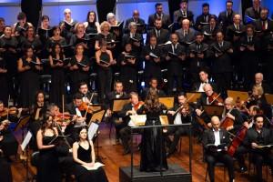 Requiem KV 626: Orquestra Sinfônica de Sorocaba interpretou a famosa obra de Mozart e contou com a participação dos corais Madrigal Vivace de Jundiaí, Vozes Paulistanas e solistas. (Foto: One Life Fotografia)