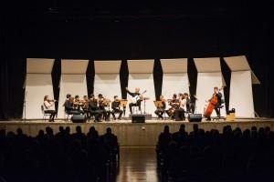 O Concerto Camerata Fukuda contou com apresentações solo de Fábio Zanon e Elisa Fukuda (Foto: One Life Fotografia)